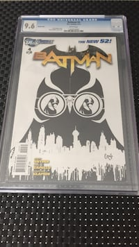 New 52 Batman Sketch Variant 1:200 Toronto