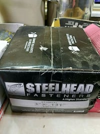 New unopened 4000 3 inch long plastic strip framing nails
