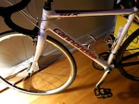 white and black Specialized road bike Montréal, H1M 3G2