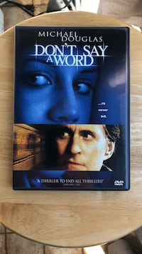 Don't Say A Word DVD Movie Laurel