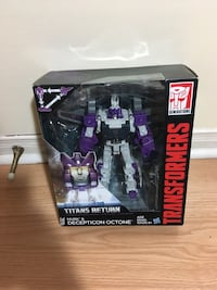 Transformers Generations Titans Return Decepticon Octone and Murk BNIB Sealed Mississauga, L5R 3W1