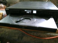 black Sony DVD player with remote Garden City, 67846