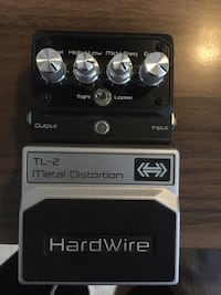 Hardwire Metal Distortion TL-2 Distortion Pedalı Buca, 35370