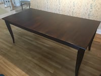 Crate and barrel 78 inch cabria dining table 178 mi