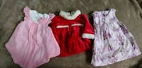 Baby girl lot size 0-12 Surrey, V3W 3K6