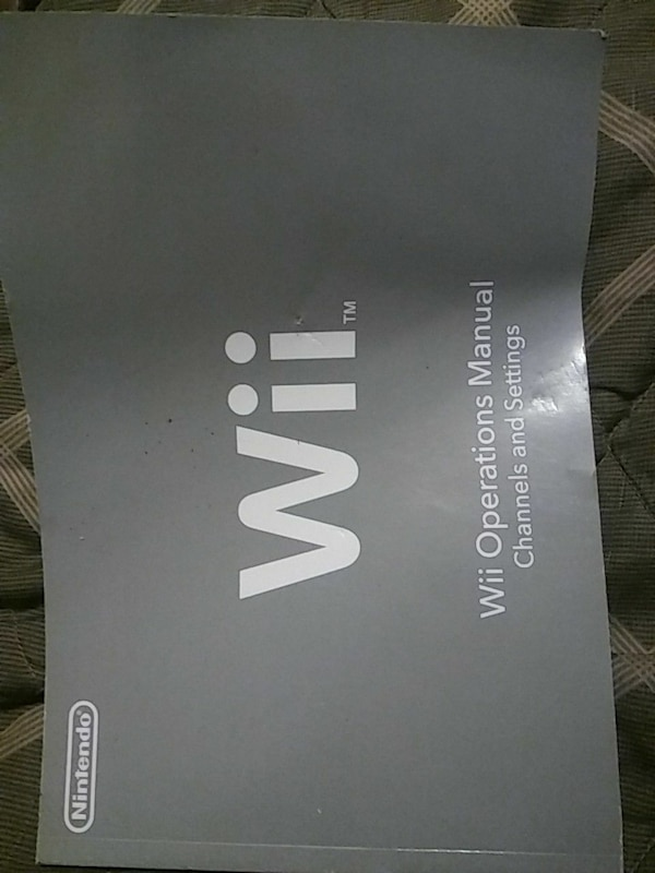 used nintendo wii operations manual for sale in portland - letgo