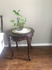 Solid wood side table 20 for one and 30 for two . It has central coffee table see my other post  Mississauga, L5V 2T7
