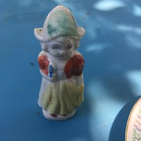 White and brown ceramic figurine Holland girl Toms River, 08757