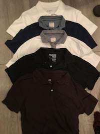 5 Medium Polos -mens  Pharr, 78577