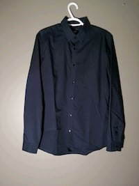 H&M Button Up Shirt - Blue