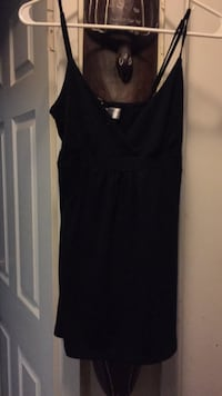 Women's black tank top Fort Erie, L0S
