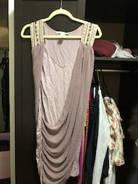 size s grecian lavender dress with beads Toronto
