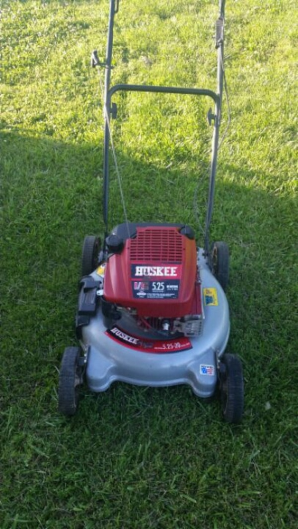 Huskee Push Mower 5 25 hp  20
