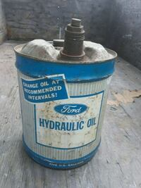 Vintage Ford oil can San Francisco Bay