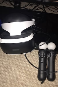 Ps4 vr with controllers new Manassas, 20109