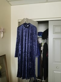 A Woman's Soft Suede Purple Dress  Orono, 04473