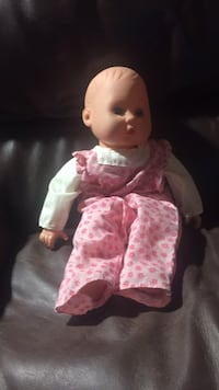 baby doll in pink and white floral dress Peterborough, K9K 2J7