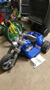 Harley Davidson battery operated bike for toddler ages 2-5 years old.