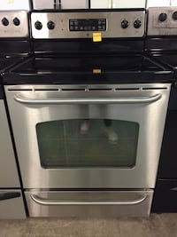 Ge stainless steel glass stove  Pompano Beach, 33069