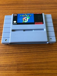 SUPER NINTENDO SNES SUPER MARIO WORLD!  EXCELLENT CONDITION!