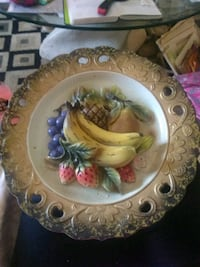 Napcoware,Decorate Fruit Plate. Wall Hanging Omaha