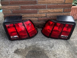 1998 mustang tail lights. There lightly smoked