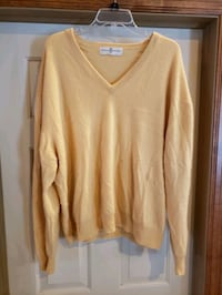 Mens Cashmere sweater. 2XL