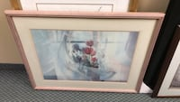 white wooden framed painting of people Vaughan, L4K 4Y2