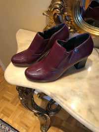 Franco Sarto leather booties size 7 Laval, H7X 3K6
