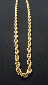 Gold PLATED ROPE Chain Mississauga