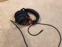 HyperX KHX-HSCP-RD Cloud II Gaming Over The Ear Headphones Willowbrook, 60527