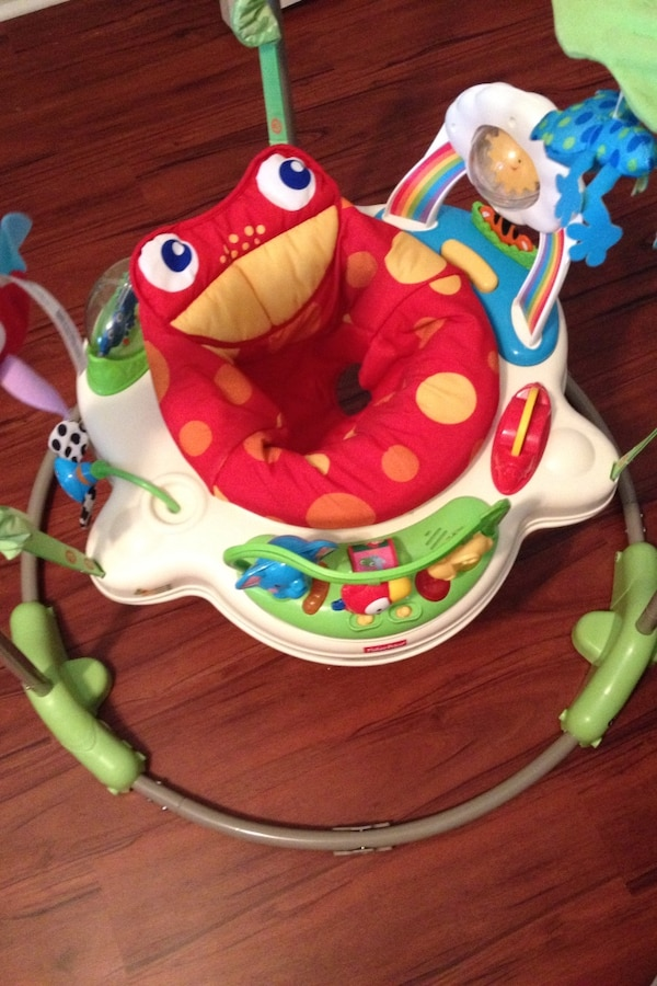 5814a4be9212 Fisher-Price jungle themed jumperoo