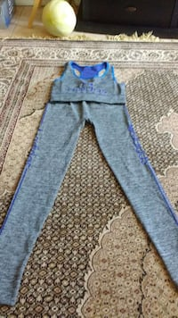 2 pc workout adidas workout suit