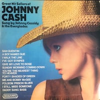 Plak - Johnny Cash - Greatest - Lp