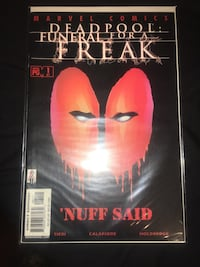 Deadpool comic. OBO 230 mi
