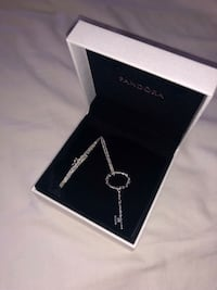 Silver pandora necklace  Pickering, L1V 2T5