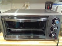 grey Oster toaster oven