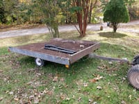 Trailer 8x8 feet tilt bed snowmobile need new wood Woodbridge, 22191
