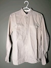 H&M Button Up Shirt - Egg Shell Guelph