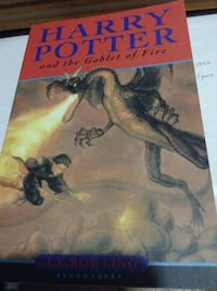 Paperback: Harry Potter and the Goblet of Fire - print in Great Britain Toronto, M1V 2J5