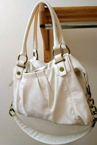 white and brown leather shoulder bag Ogden, 84403