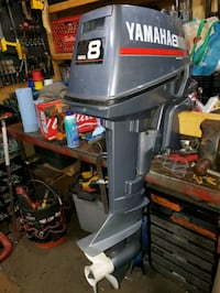 8 Hp Yamaha outboard MINT Condition. ...... 800 obo Glenside, 19038