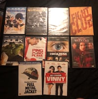 10 DVDS FOR SALE Warwick, 02886