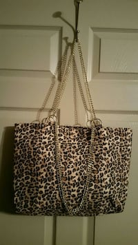 Made by hand chain embellished tote bag Alba, 75410