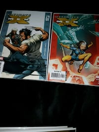 Xmen comic 3.00 each o 5.00 for 2 while they last.