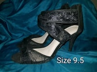 Black lace heels Independence