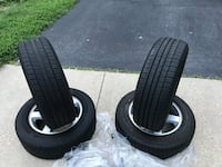 17 inch wheels and tires for 2006-2010 Dodge Charger SXT and below models (2 new & 2 used) Upper Marlboro, 20772