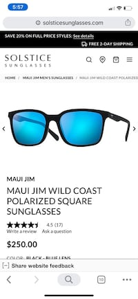 Maui Jim Sunglasses NEW!!!