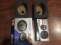 black and gray Kenwood subwoofer speaker Hyattsville, 20784
