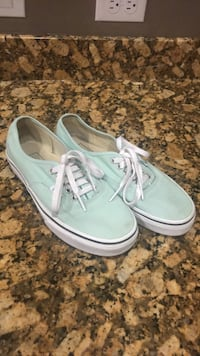 pair of blue Vans low-top sneakers Albuquerque, 87114